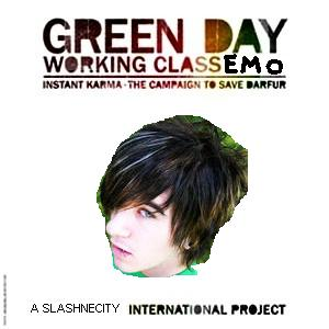 Album cover parody of Working Class Hero (Album Version) [Explicit] by GREEN DAY