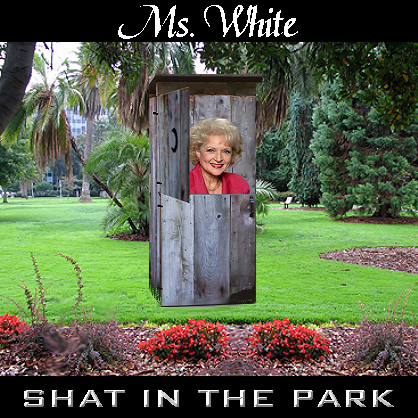 Album cover parody of Shot in the Dark by Great White