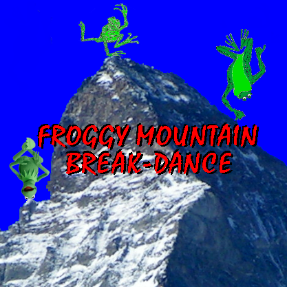 Album cover parody of Foggy Mountain Breakdown by Various Artists