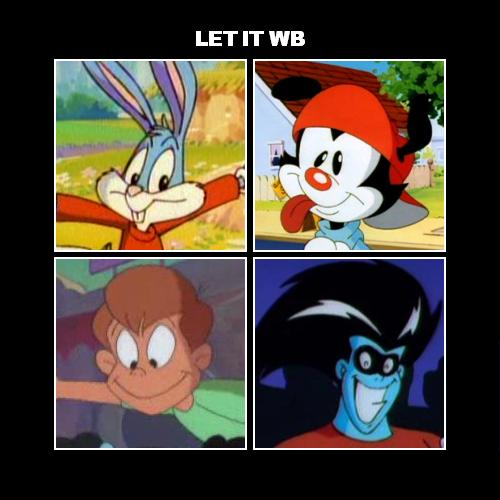 Album cover parody of Let It Be by The Beatles