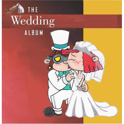 Album cover parody of The Wedding Album by Various Artists