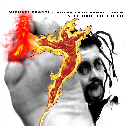 Album cover parody of Songs From the Front Porch: An Acoustic Collection by Michael Franti