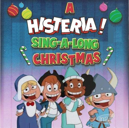 Album cover parody of A Looney Tunes Sing-a-Long Christmas by Various Artists