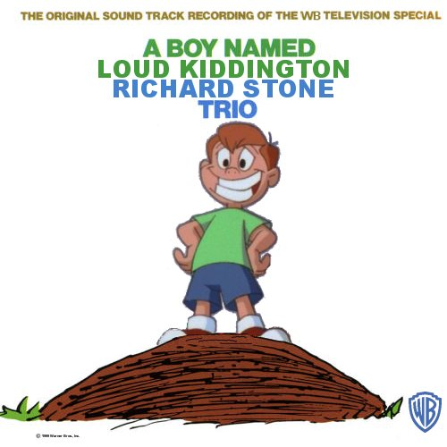 Album cover parody of A Boy Named Charlie Brown: The Original Sound Track Recording Of The CBS Television Special by Vince Guaraldi