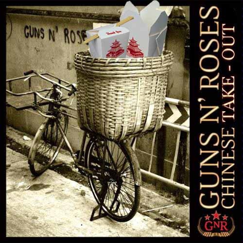 Album cover parody of Chinese Democracy by Guns N' Roses