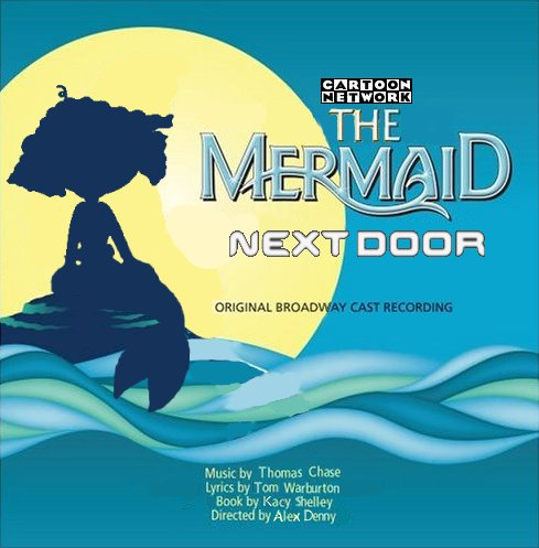 Album cover parody of Disney's The Little Mermaid (2008 Original Broadway Cast) by Original Cast Recording