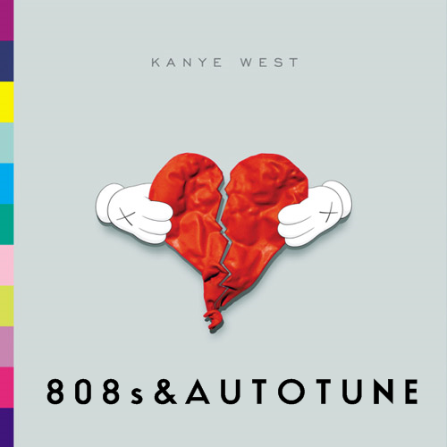 Album cover parody of 808s & Heartbreak by Kanye West