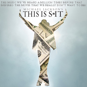 Album cover parody of Michael Jackson's This Is It by Michael Jackson