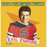 Album cover parody of Evil Empire by Rage Against the Machine