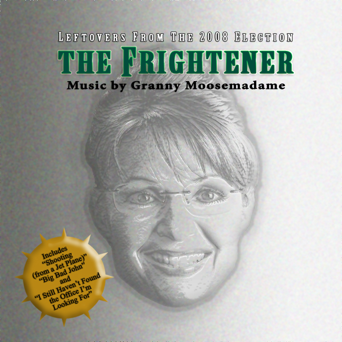 Album cover parody of The Frighteners: Music From The Motion Picture by Danny Elfman