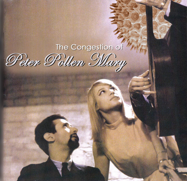 Album cover parody of The Very Best of Peter, Paul and Mary by Peter Paul & Mary