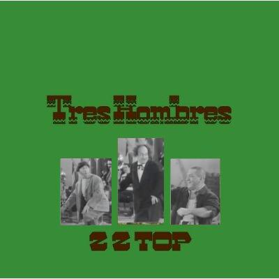 Album cover parody of Tres Hombres by ZZ Top