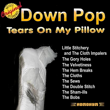 Album cover parody of Doo Wop: Tears on My Pillow by Various Artists