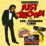 Album cover parody of Godfather of Soul by James Brown