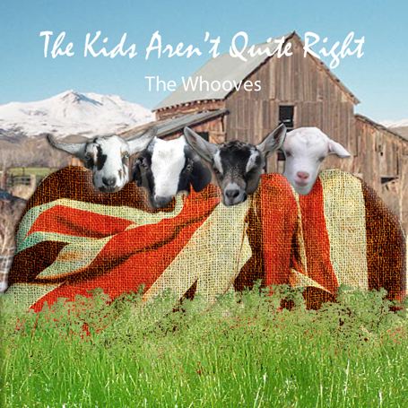Album cover parody of The Kids Are Alright by The Who