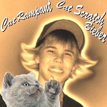 Album cover parody of Cat Scratch Fever by Ted Nugent