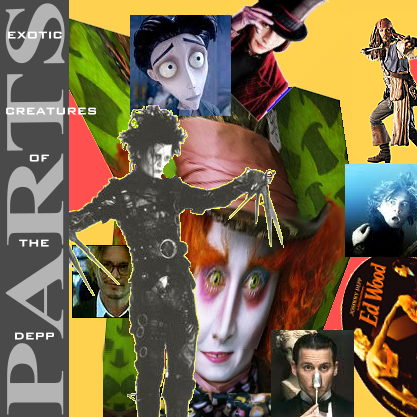 Album cover parody of Exotic Creatures of the Deep by Sparks