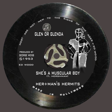 Album cover parody of (She s) A MUST TO AVOID by HERMAN'S HERMITS