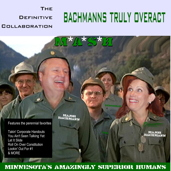 Album cover parody of The Definitive Collection by Bachman-Turner Overdrive