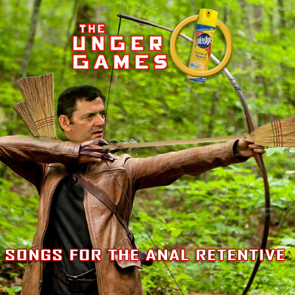Album cover parody of The Hunger Games: Songs from District 12 and Beyond by Various Artists