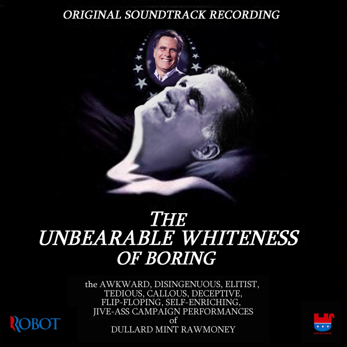 Album cover parody of The Unbearable Lightness Of Being (1988 Film) by Original Soundtrack Recording