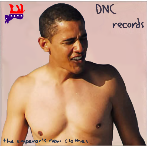 Album cover parody of The Emperor's New Clothes by Sinead O'Connor