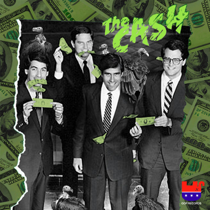 Album cover parody of The Clash (US Version) by The Clash