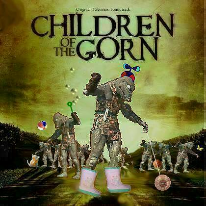 Album cover parody of Children of the Corn (2009) by Elias & Morgan