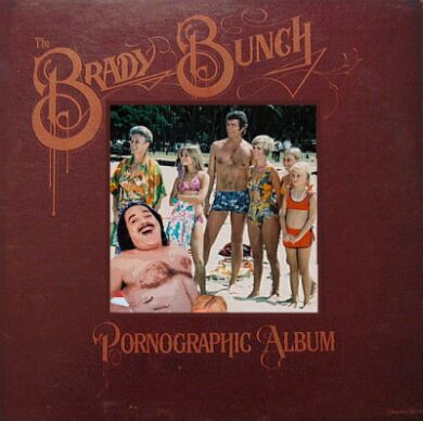 Album cover parody of Phonographic Album by Brady Bunch