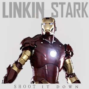 Album cover parody of BURN IT DOWN - Single by Linkin Park