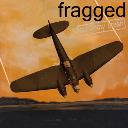 Album cover parody of Economy Class by Frigg