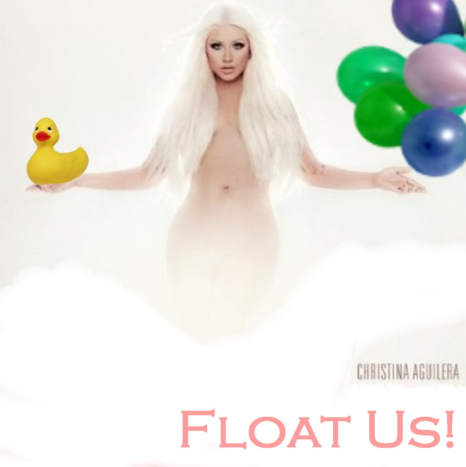 Album cover parody of Lotus by Christina Aguilera