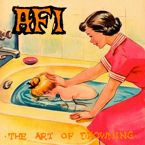 Album cover parody of The Art Of Drowning by AFI (2000) Audio CD by AFI