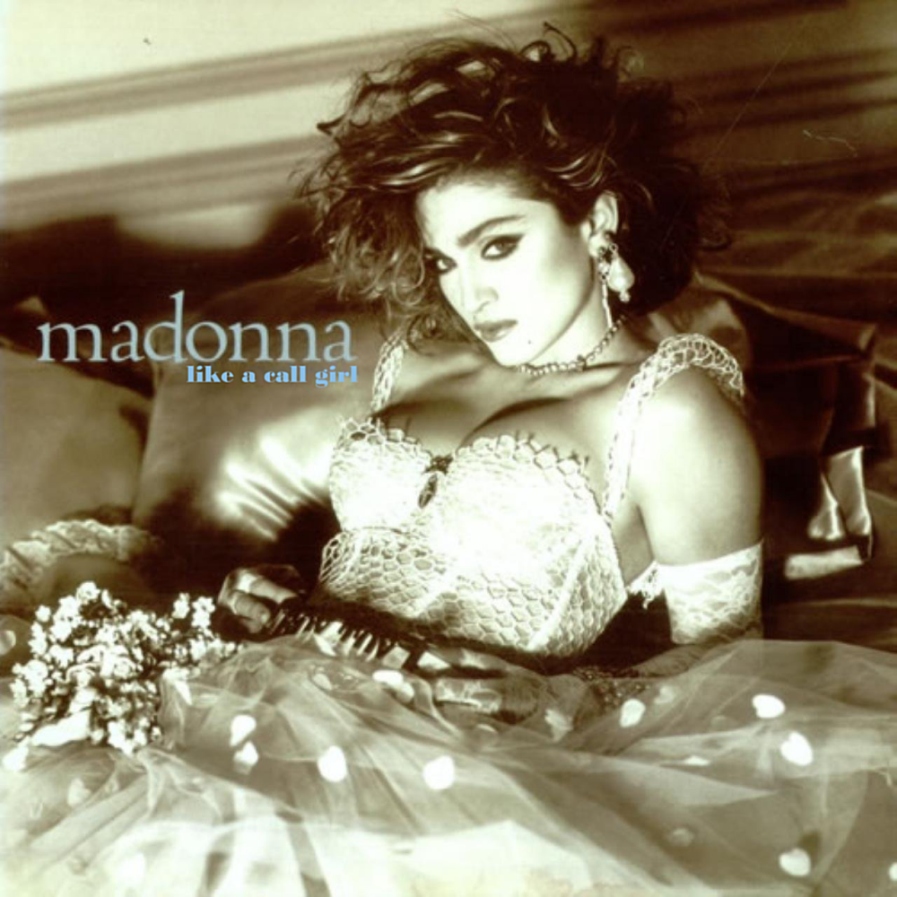 Album cover parody of Like A Virgin by Madonna