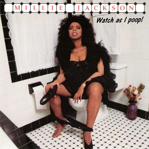 Album cover parody of Back to the S**t by Millie Jackson