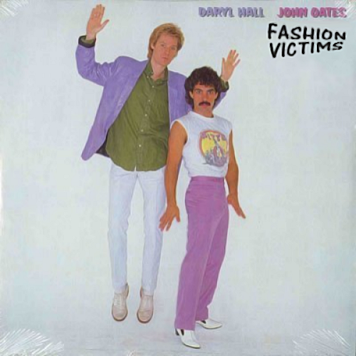 Album cover parody of Voices LP by HALL & OATES