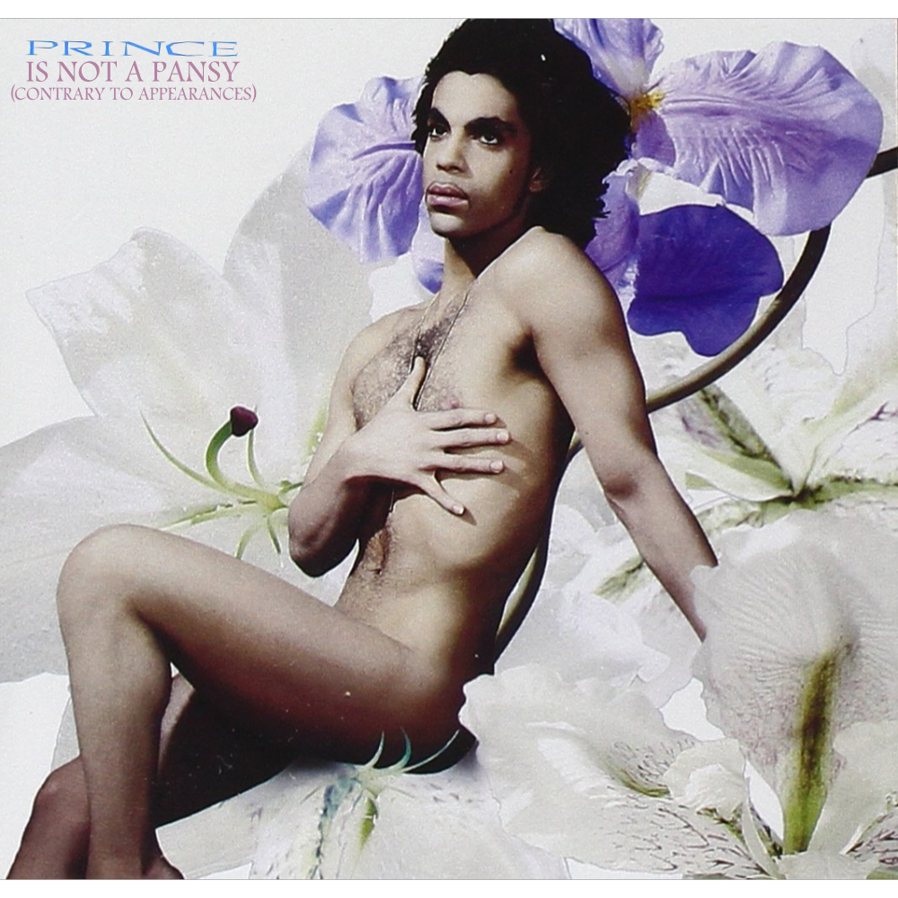 Album cover parody of Lovesexy by Prince