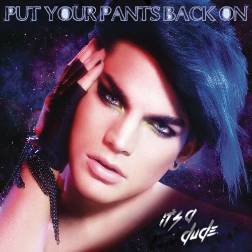 Album cover parody of For Your Entertainment by Adam Lambert