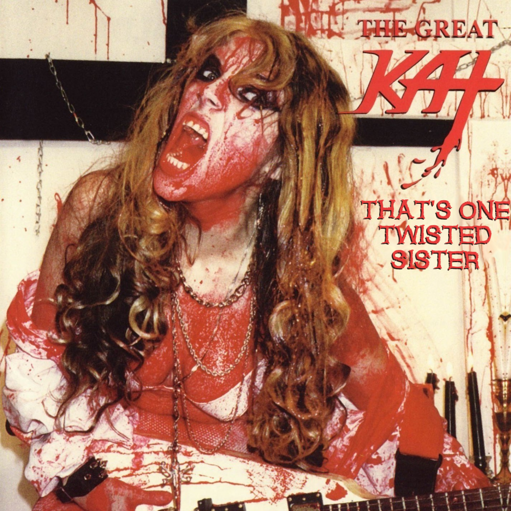 Album cover parody of Bloody Vivaldi by Great Kat