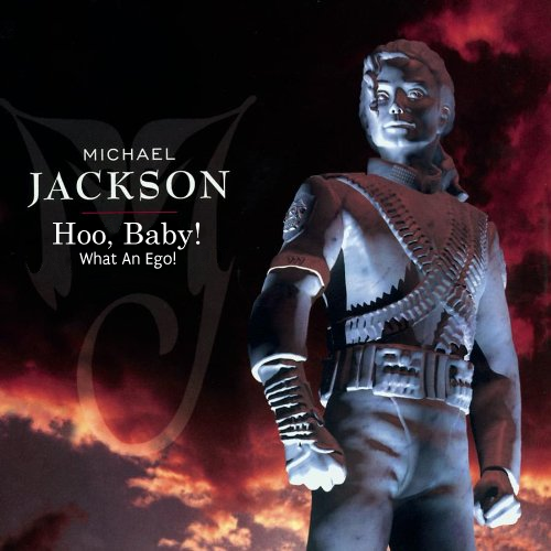 Album cover parody of History Past, Present and Future Book I by Michael Jackson