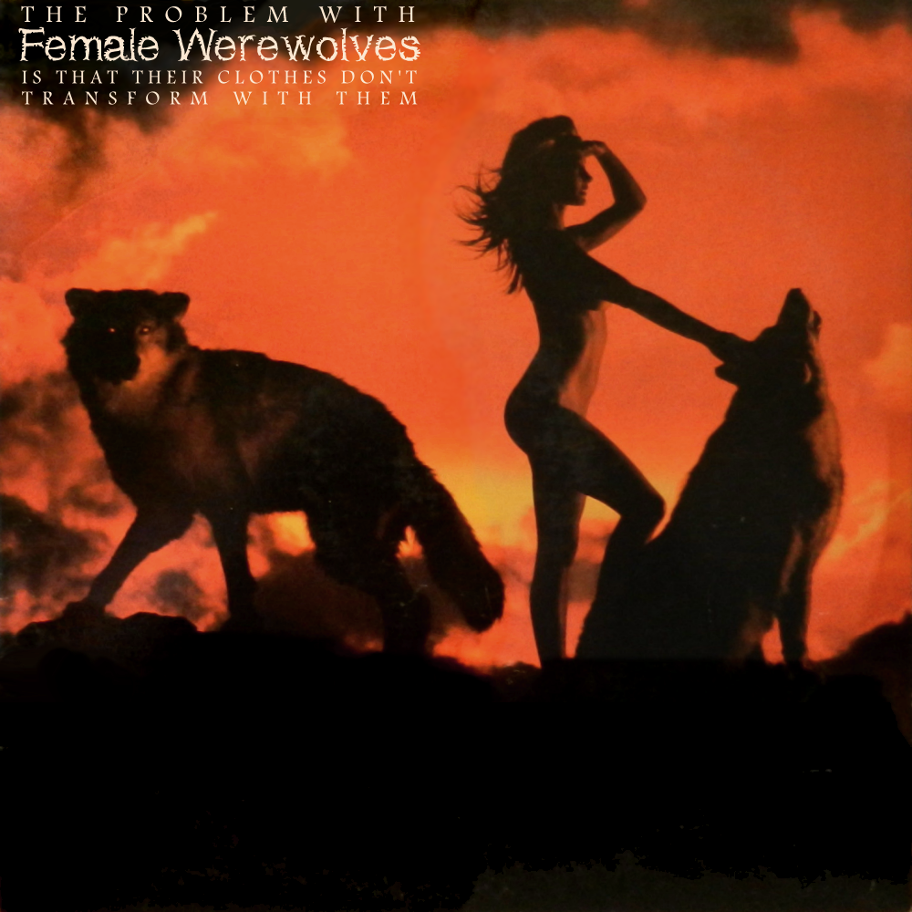 Album cover parody of Endangered Species by White Wolf