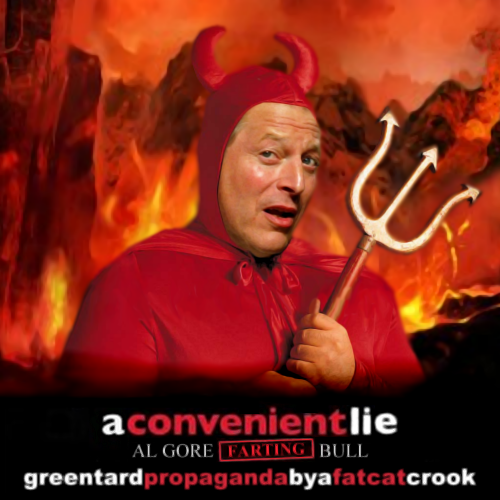 Album cover parody of An Inconvenient Truth by Michael Brook