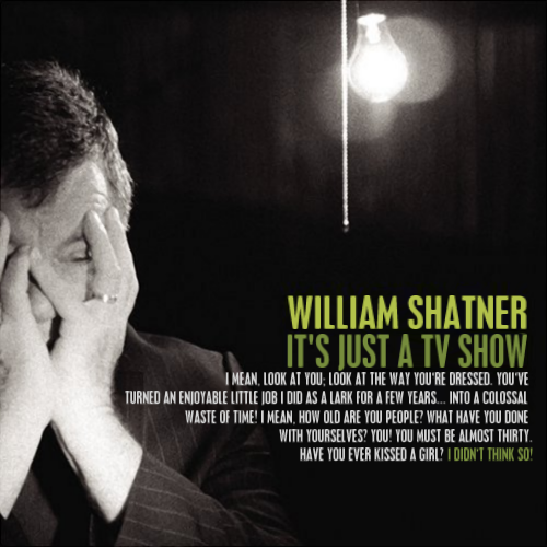 Album cover parody of Has Been by William Shatner