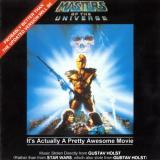 Album cover parody of Masters Of The Universe: Original Motion Picture Soundtrack by Bill Conti