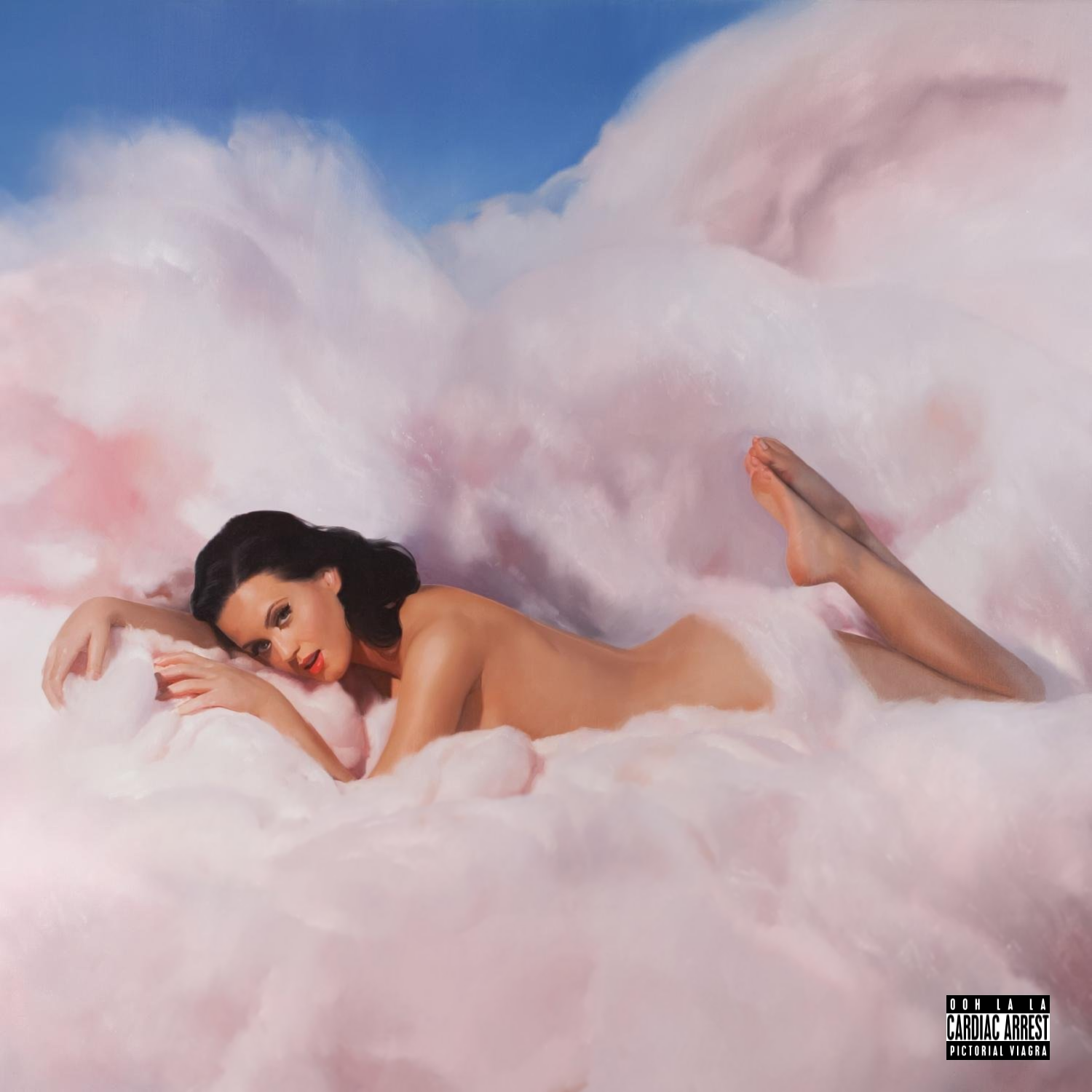 Album cover parody of Teenage Dream by Katy Perry