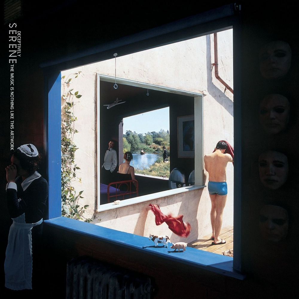 Album cover parody of Echoes: The Best of Pink Floyd by Pink Floyd