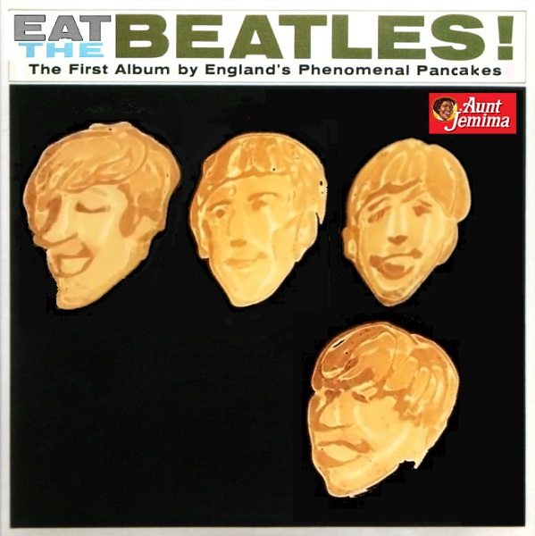 Album cover parody of Meet The Beatles (The U.S. Album) by The Beatles