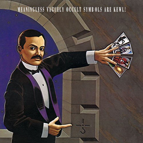 Album cover parody of AGENTS OF FORTUNE(remaster)(reissue)(BLU-SPEC CD2)(+bonus) by Blue Oyster Cult