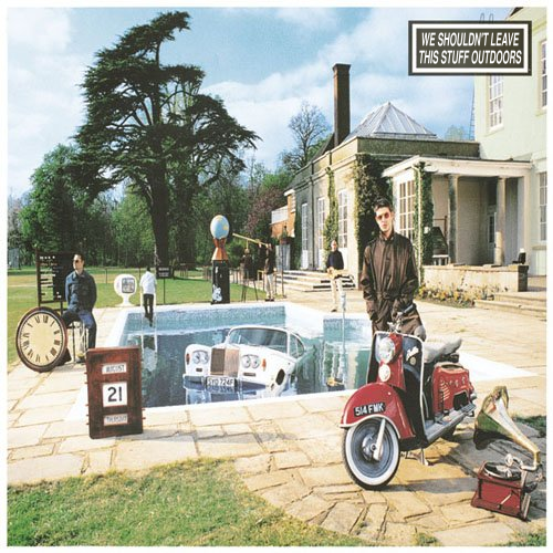 Album cover parody of Be Here Now by Oasis