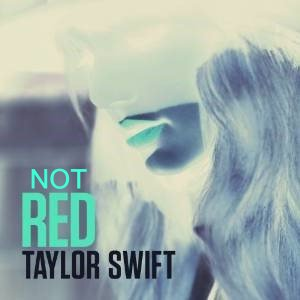 Album cover parody of Red by Taylor Swift